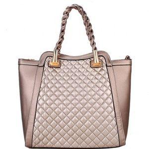 Handbags - Quilted shopper